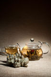 Tea service Royalty Free Stock Image