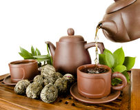 Tea service Royalty Free Stock Photography