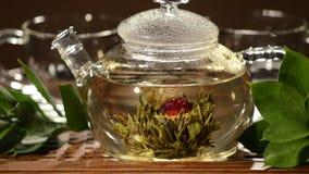 Tea service stock video