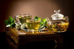 Tea service Stock Images