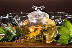 Tea service Royalty Free Stock Images