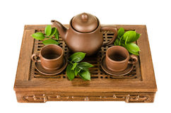 Tea service Stock Photo