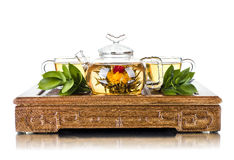 Tea service Royalty Free Stock Photos