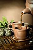 Tea service Stock Photography