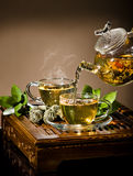 Tea service Stock Image