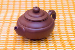 Tea serving Stock Images