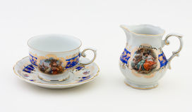 Tea set. Produced in Germany until 1950 Royalty Free Stock Photos