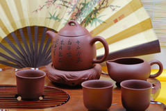 Tea set Stock Photography
