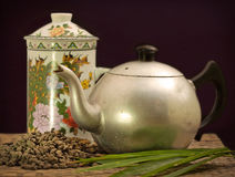 Tea set Stock Images