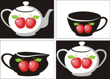 Tea set 3 Stock Images