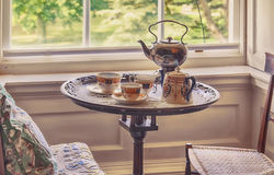 Tea set of 18 century Stock Photo