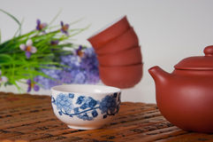 Tea set Stock Image