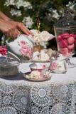 A tea set Stock Images