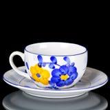 Tea set isolated Stock Photos