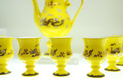 Tea set   tea service Stock Image