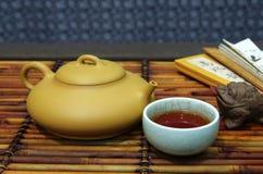 Tea set, tea Stock Photo