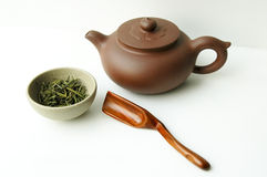 Tea set  and teapot Royalty Free Stock Image
