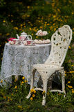 A tea set Stock Photo