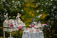 A tea set Stock Image