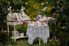 A tea set Royalty Free Stock Image