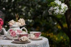 A tea set Stock Photography