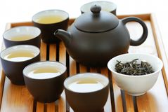 Tea sets Royalty Free Stock Photography