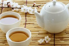 Tea sets Royalty Free Stock Image