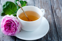 Tea in the Shabby Chic style Stock Images