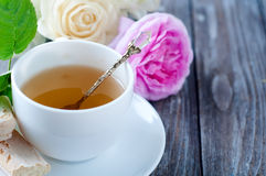 Tea in the Shabby Chic style Stock Photography