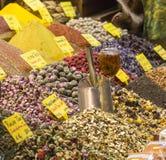 Tea shop in Grand Bazaar, Istanbul, Turkey. Royalty Free Stock Photos