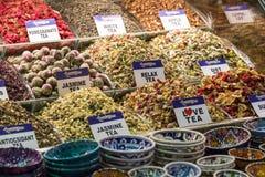Tea shop in Grand Bazaar, Istanbul, Turkey. Stock Photo