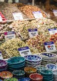 Tea shop in Grand Bazaar, Istanbul, Turkey. Stock Image