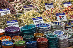 Tea shop in Grand Bazaar, Istanbul, Turkey. Stock Images