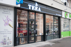 Tea shop Royalty Free Stock Images