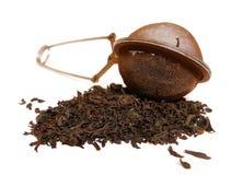 Tea sieve stock photography