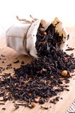 tea in small sack Royalty Free Stock Image