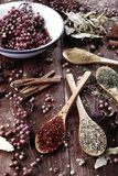 Tea and spices Royalty Free Stock Images