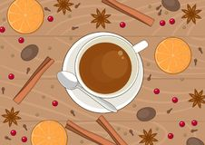 Tea with spices Royalty Free Stock Image