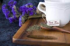 Tea on spoon Stock Photos