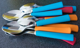 Tea spoons Royalty Free Stock Photography
