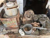 Tea stall Stock Image