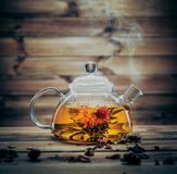 Tea still-life stock image