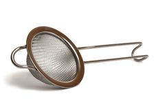 Tea strainer Stock Images