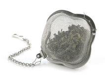 Tea strainer Royalty Free Stock Images