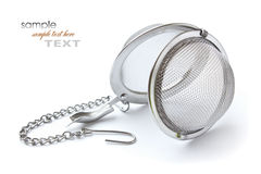 Tea strainer Royalty Free Stock Photography