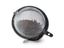 Tea strainer Stock Photo