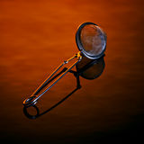 Tea Strainer on Amber Stock Images