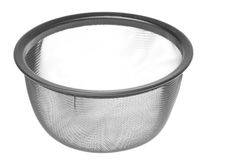 Tea Strainer Isolated Stock Photography