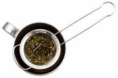 Tea strainer stock photography