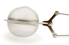 Tea-strainer macro Royalty Free Stock Images
